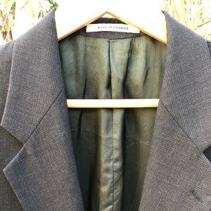 NW VTG YSL Custom Made Coat in France, Size 38R